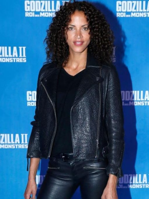 Godzilla King of the Monsters Noémie Lenoir Black Jacket