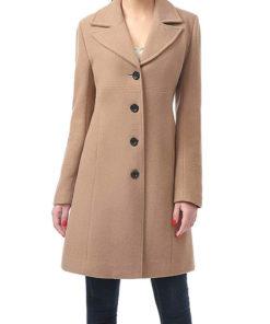 Women Wool Blend Coat