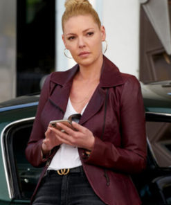 Donna Paulsen Suits Leather Jacket