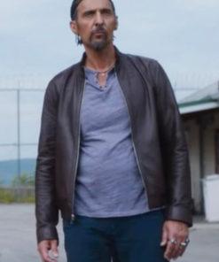 The Jesus Rolls Jesus Quintana Leather Jacket