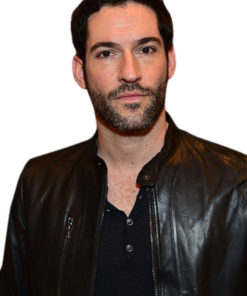 Tom Ellis Lucifer Morningstar Leather Jacket
