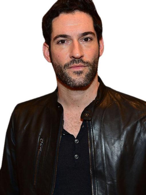 Tom Ellis Lucifer Morningstar Leather Jacket