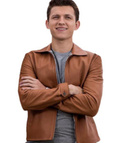 Tom Holland Tan Brown Jacket
