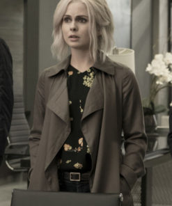 iZombie Olivia Moore Cotton Trench Coat