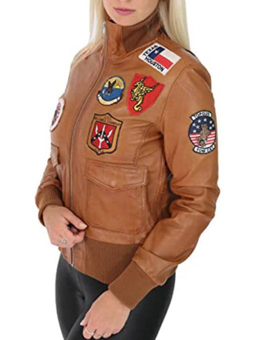 Top Gun Air Force Style Women Jacket