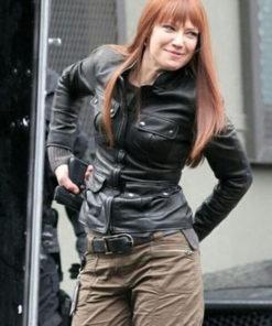 Fringe Anna Torv Leather Jacket