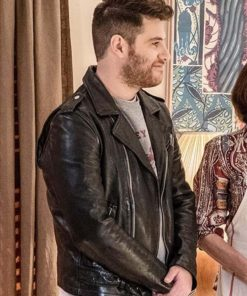 Adam Pally Most Likely to Murder Biker Jacket