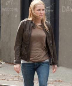 Georgina Haig Fringe Leather Jacket
