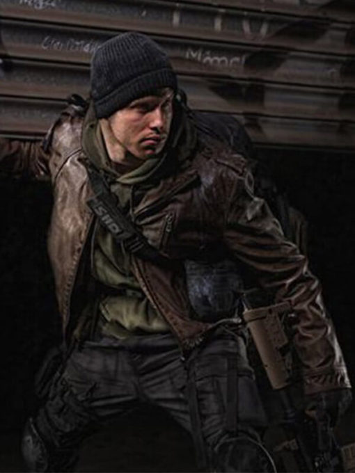 Agent Tom Clancys The Division Brown Jacket