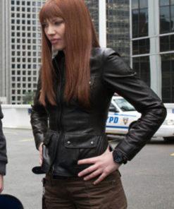 Olivia Dunham Fringe Leather Jacket