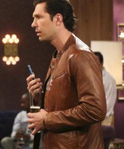 The Big Bang Theory Zack Johnson Leather Jacket