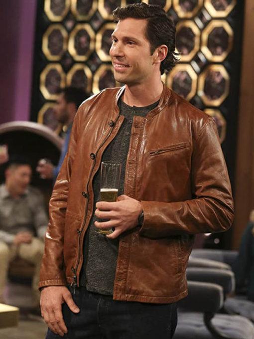Zack Johnson The Big Bang Theory Leather Jacket