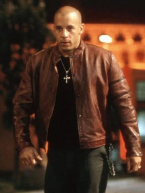 Fast & Furious Vin Diesel Brown Jacket