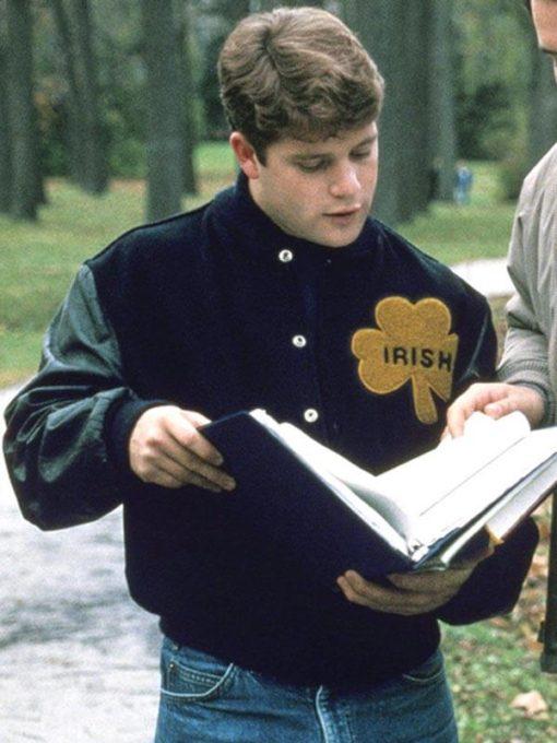 University of Notre Dame Rudy Irish Letterman Jacket