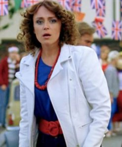 Keeley Hawes Ashes to Ashes Leather Jacket