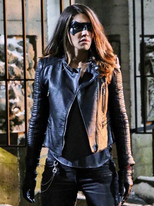 Juliana Harkavy Arrow Leather Jacket