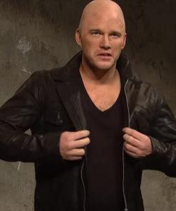 Chris Pratt Jason Statham Ad Leather Jacket