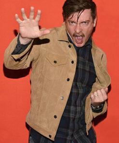Rhys Darby Hunt for the Wilderpeople Suede Jacket
