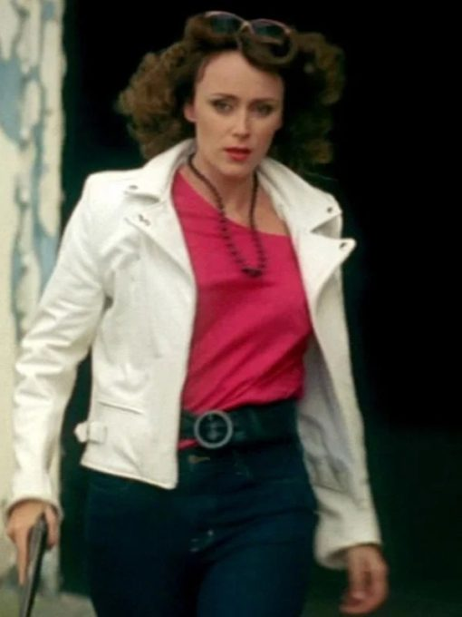 Ashes to Ashes Keeley Hawes Leather Jacket