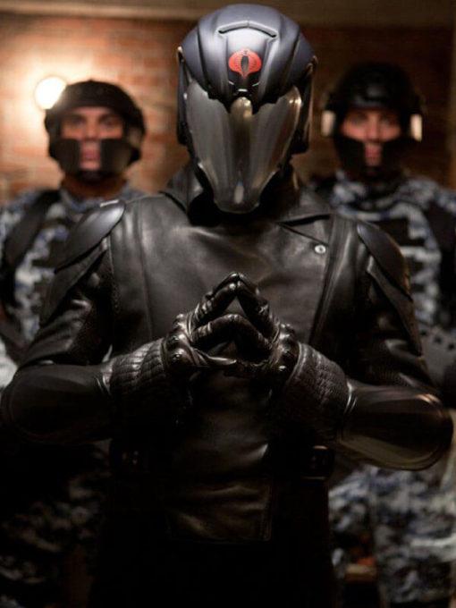 G.I. Joe Retaliation Cobra Commande Leather Coat