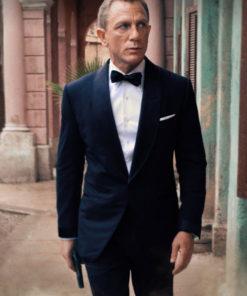 James Bond Black Tuxedo Suit