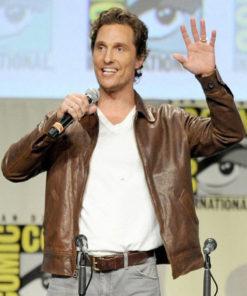 Interstellar Matthew McConaughey Jacket for Mens
