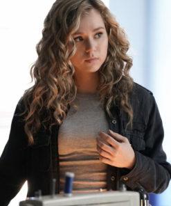 Courtney Whitmore Bassinger Black Jacket