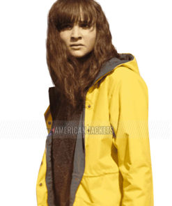 Dark Lisa Vicari Yellow Hooded Jacket