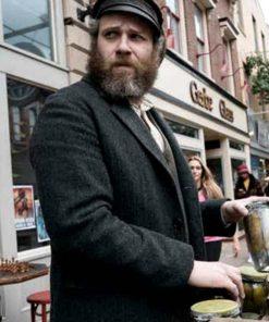 Seth Rogen Balck Coat