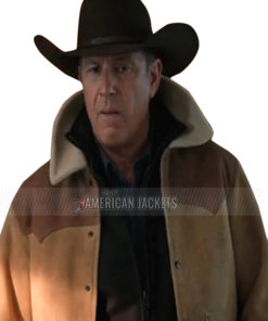Yellowstone Season 3 John Dutton Leather Jacket