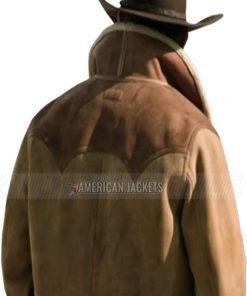 Yellowstone Season 3 Ep9 John Dutton Leather Jacket