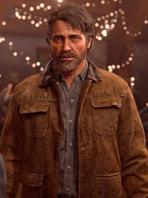 The Last of Us Joel Brown Leather Jacket