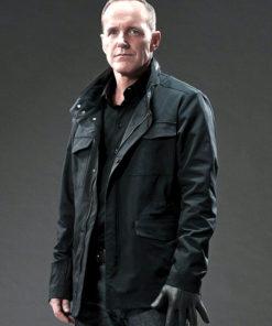 Gregg Jacket Agents of Shield Black Jacket