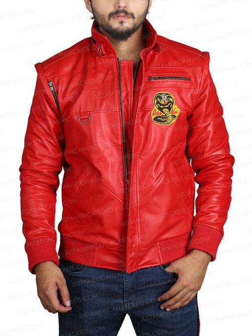 Karate Kid Cobra Kai Red Jacket