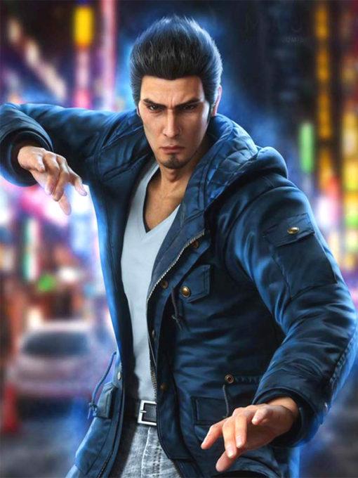 Yakuza 6 Song of Life Kazuma Kiryu Jacket