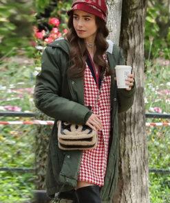 Emily Cooper Green Jacket