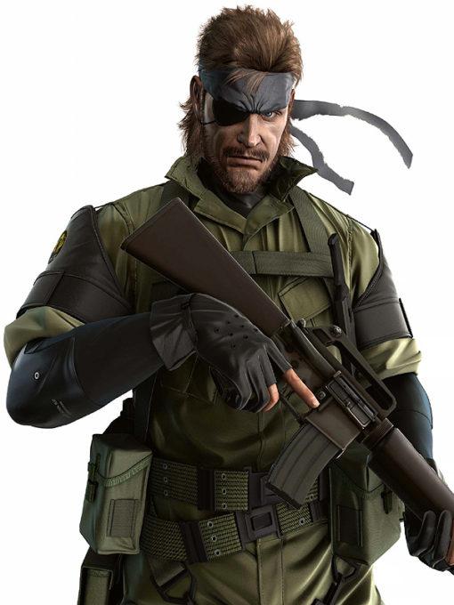 Metal Gear Sold Big Boss Green Jacket