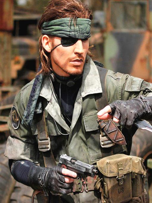 Metal Gear Sold Peace Walker Big Boss Jacket
