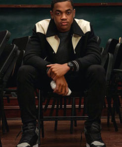 Michael Rainey Jr Power Book 2 Ghost Winter Black and White Jacket
