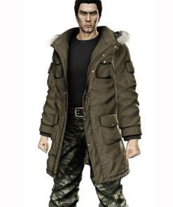 Yakuza 5 Taiga Saejima Parka Coat
