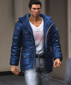 Kazuma Kiryu Yakuza 6 Song of Life Hooded Jacket