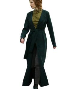Grace Fraser The Undoing Green Trench Coat
