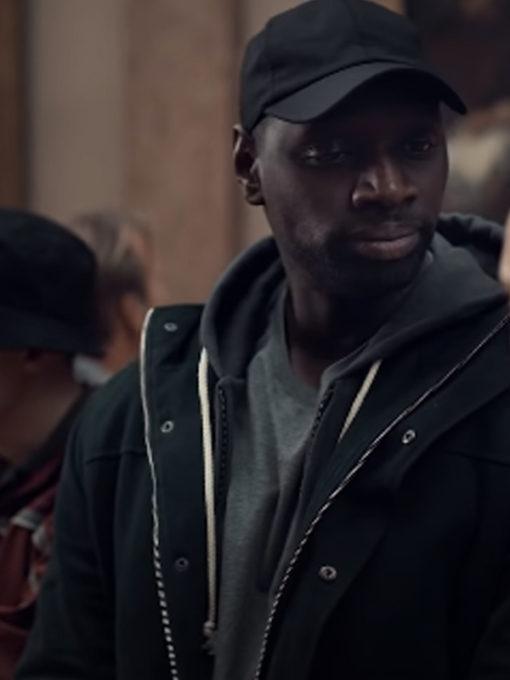 Omar Sy Lupin Arsene Cotton Jacket