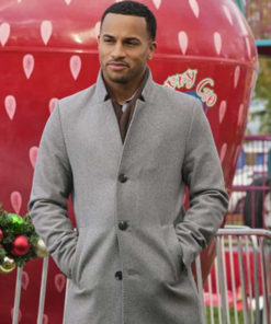 Michael Xavier Christmas Comes Twice Grey Coat