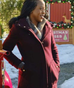 Christmas In Evergreen are Ringing Rukiya Bernard Coat