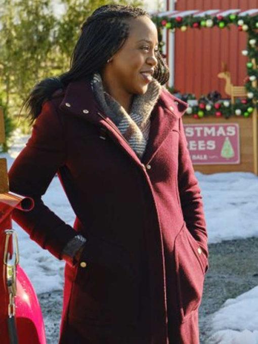 Christmas In Evergreen are Ringing Rukiya Bernard Coat