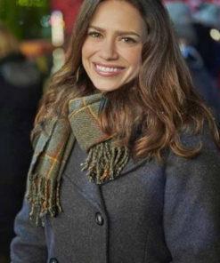 Five Star Christmas Bethany Joy Lenz Peacoat