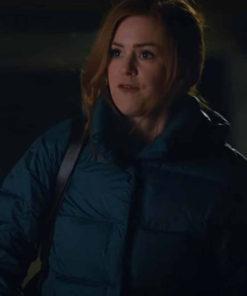 Isla Fisher Godmothered Puffer Jacket
