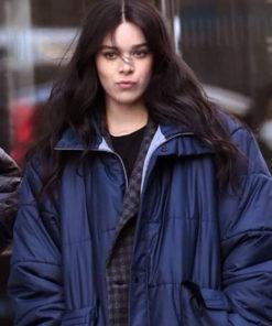 Hawkeye 2021 Hailee Steinfield Blue Puffer Coat