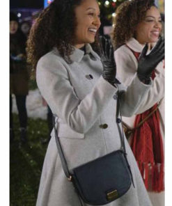 Christmas Comes Twice Tamera Mowry Housley Coat